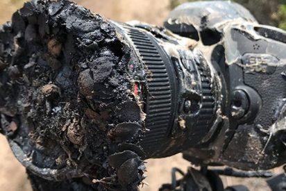 ¿Sabes qué pasó realmente con la cámara de la NASA 'asada' durante el lanzamiento del Falcon 9?