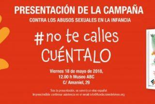 La Fundación Edelvives presenta mañana una campaña contra los abusos sexuales a menores