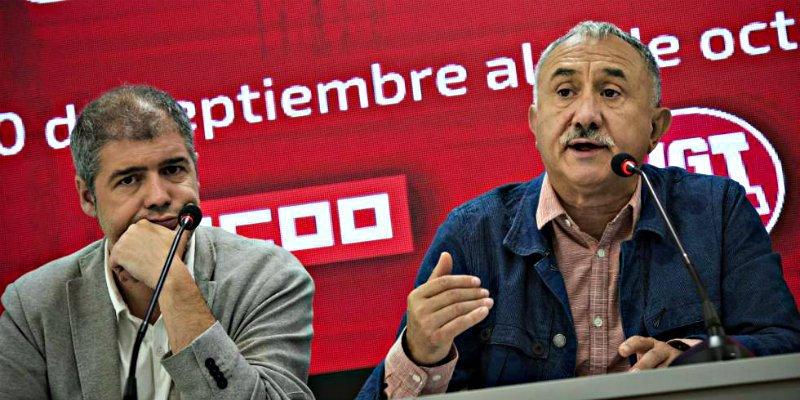 1 de Mayo: dia del bochorno sindical en España