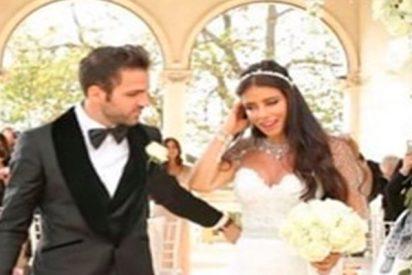 Cesc Fabregas y Daniella Semaan se han casado