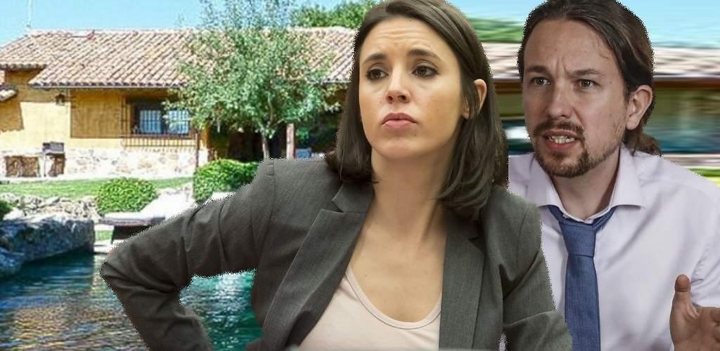 A Pablo Iglesias e Irene Montero les costará al menos 1.000 euros al mes mantener el chalet