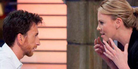 Charlize Theron le manda este mensaje públicamente a Pablo Motos después de dejar claro lo poco que le gusta 'El Hormiguero'