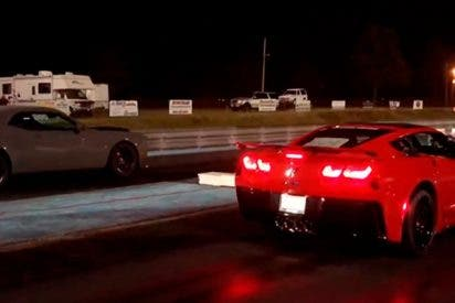 ¡Chevrolet Corvette ZR1 destrona al rey Challenger SRT Demon!