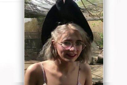 """Un """"terrible presagio de muerte"""" se posa sobre la cabeza de esta chica"""