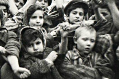 Niños en los campos de concentración nazis