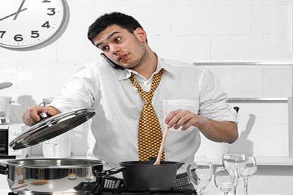 ¡No te acongojes y a la cocina sin miedo... machote!