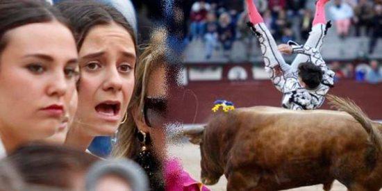 Victoria Federica vive aterrorizada la cogida de Gonzalo Caballero