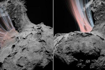 OSIRIS ya está adentrándose en la atmósfera del cometa 67P