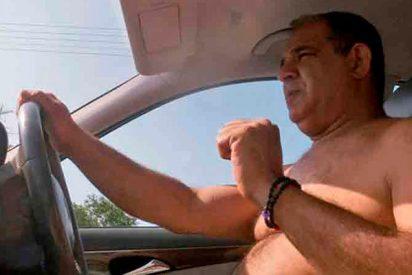¿Sabes qué te puede pasar si conduces con chanclas y sin camiseta?