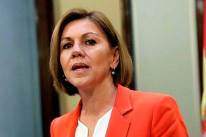 María Dolores Cospedal descarta la dimisión de Rajoy porque no garantiza que el PP salve el Gobierno