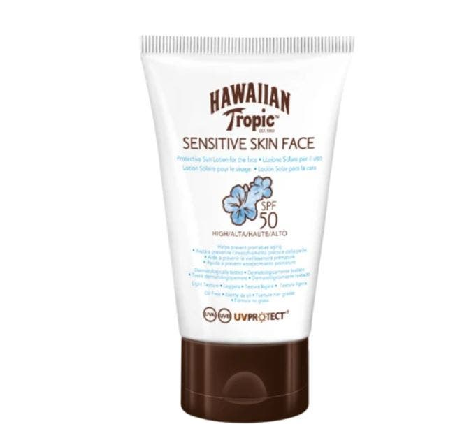 Hawaiian Tropic Sensitive Skin Face - Crema Solar