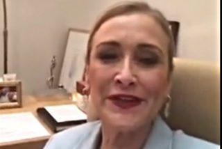 Cristina Cifuentes borra su vídeo más loco y deja turulatas a las redes sociales