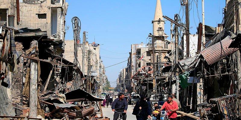 """Damasco ya es """"completamente seguro"""" después de 7 años de hostilidades"""