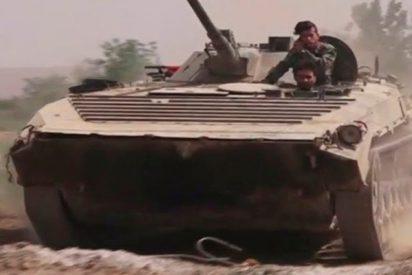 Así rompe el Ejército sirio las defensas del Estado Islámico en Damasco