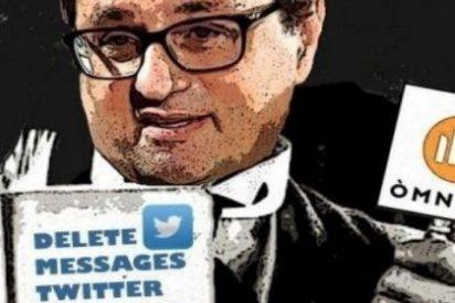 Los tuits supremacistas que borró acojonado el antiespañol sucesor de Puigdemont