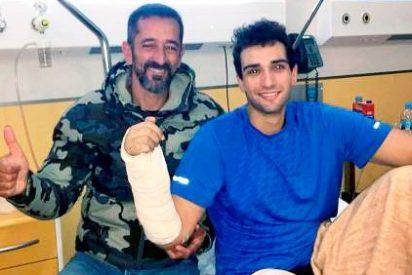 El doctor Cavadas reimplanta la mano a un marine de EEUU que se la amputó en un submarino