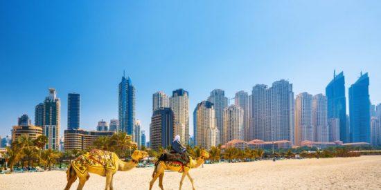 """Una """"Noche vieja"""" en Dubái"""