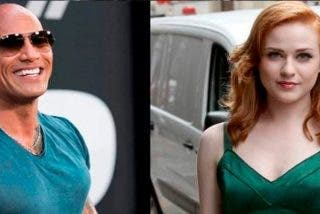 "Dwayne Johnson y Rachel Wood ""ultra defensores"" del sexo oral en Twitter"