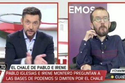 """Echenique pierde los nervios y con la complicidad de Cuatro llama """"mafioso"""" y """"sicario """"a Inda"""