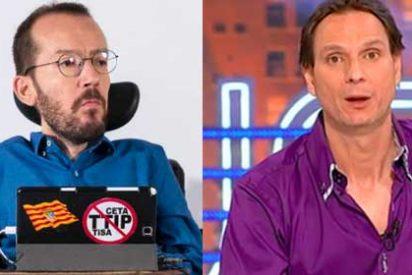 Echenique rabia por la renovación de Javier Cárdenas en TVE y de propina se come unos zascas de libro