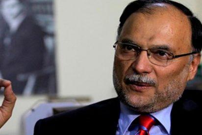 El ministro de Interior de Pakistán resulta herido en un intento de asesinato