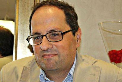 Carles Puigdemont presenta al fanático Quim Torra como su sucesor en la presidencia de la Generalitat