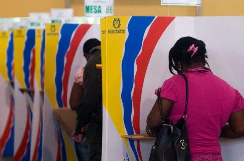 """""""Votemos por quien demuestra solidaridad con los sufrimientos y esperanzas de todos los colombianos"""""""
