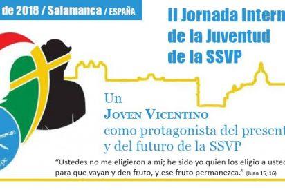 La Sociedad de San Vicente de Paúl congrega en Salamanca a jóvenes de todo el mundo