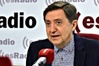 """Losantos abronca a Casado por no haber echado todavía al """"chulo, mendrugo, xenófobo y larva"""" de Alfonso Alonso"""