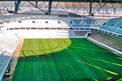 Así es el nuevo estadio de Volgogrado