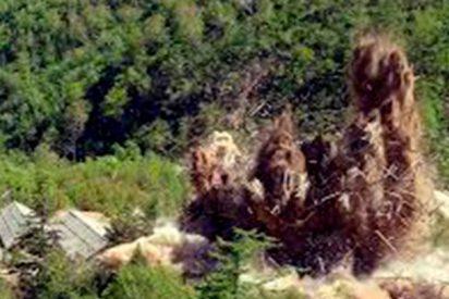 Así fue el desmantelamiento del polígono nuclear norcoreano