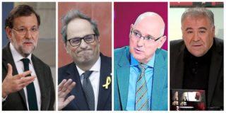 ¿A qué espera Rajoy para dejar de negociar con el racista Torra al que le ríen en TVE y laSexta sus bufonadas?