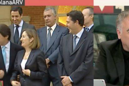 """Ferreras """"obedece"""" a la pinza del PP y Podemos y relaciona a Zaplana con Albert Rivera"""