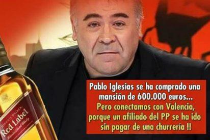Masacran a memes a Ferreras por esconder el escándalo de la mansión de Pablo Iglesias