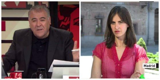 A Ferreras, a falta de Errejón, buena le resulta la 'asalta capillas' Maestre para masacrar a Pablo Casado