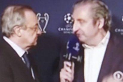 Pedrerol se enfrenta a Florentino Pérez tras la 'bomba' de Ronaldo sobre su continuidad