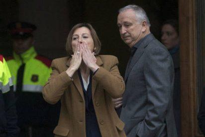 Cataluña: El marido de Carme Forcadell deja al independentismo con el culo al aire