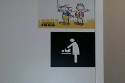 IKEA responde así de 'políticamente correcta' a esta crítica en las redes sobre una foto en sus baños