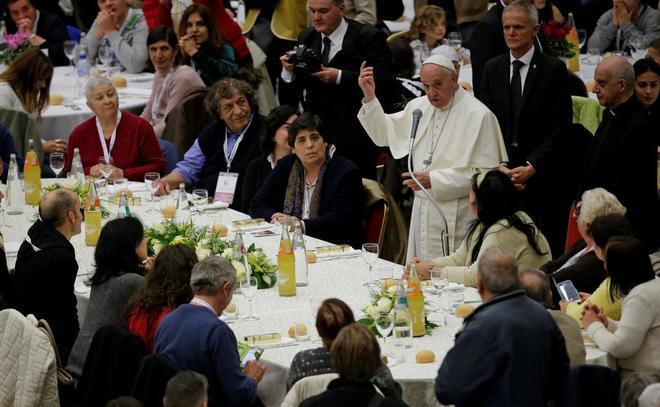 El Papa invita a los más necesitados al Golden Gala de atletismo