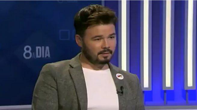 La última payasada de Gabriel Rufián contra la Guardia Civil le cuesta un salvaje chorreo en Twitter