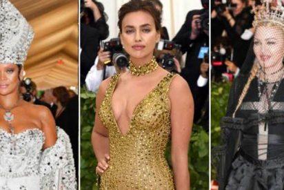 Rihanna, Madonna, Irina Shayky las Kardashian, brillan en la gala MET