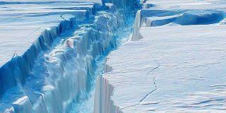 ¿Sabías que el viento cálido está derritiendo el hielo en la Antártida también en invierno?