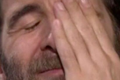 'Gonzo' se rompe en 'LaSexta Noche'