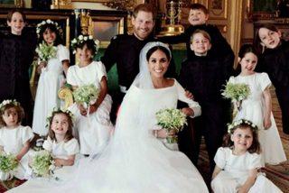 Las fotos más intimas de la boda del príncipe Harry y Meghan Markle