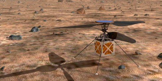 Así es el super helicóptero autónomo que la NASA enviará a Marte en 2020