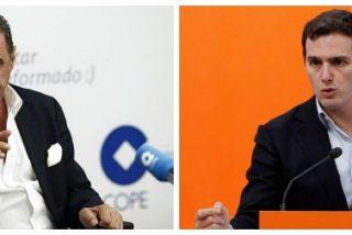 """Carlos Herrera se lanza a la yugular del """"apresurado y nervioso"""" Rivera por hacer electoralismo con el 155"""