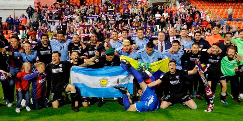 El Huesca sube a Primera