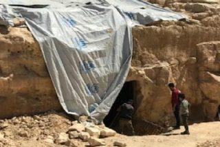 """Descubren una """"iglesia secreta"""" del cristianismo primitivo en un basurero del Isis"""