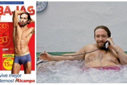 """Los viñetistas Idígoras y Pachi se cachondean de Pablo Iglesias: """"Soy coherente, compro la ropa en Alcampo y el chalet en la sierra"""""""