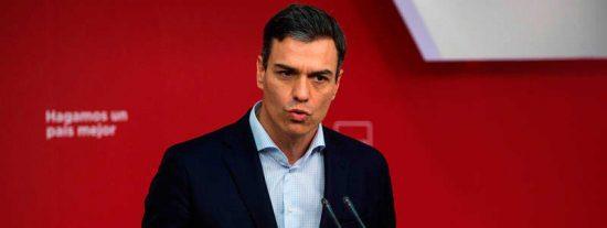 El bochornoso vídeo de Pedro Sánchez quedándose en blanco que enrojece al PSOE